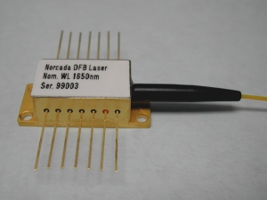 Norcada DFB laser in 14-pin Butterfly package